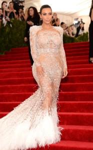 Kim Kardashian in Roberto Cavali