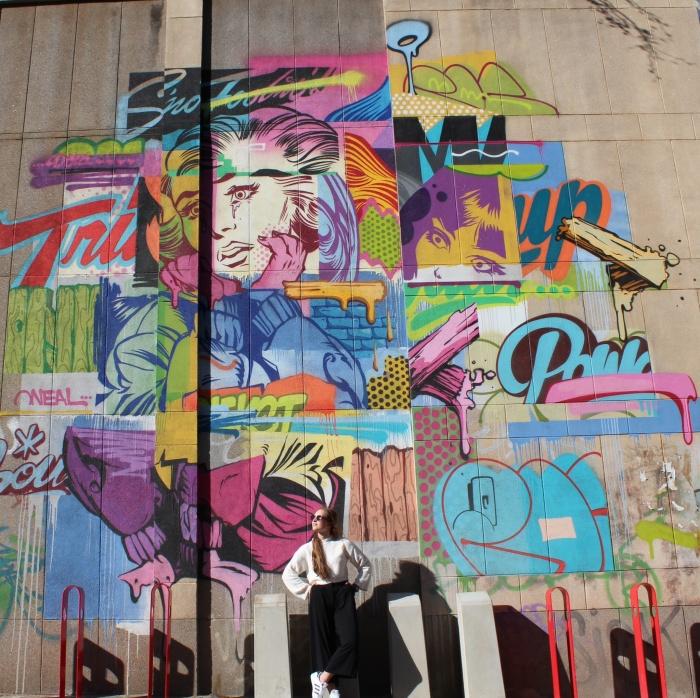 Graffiti Wall Braamfontein