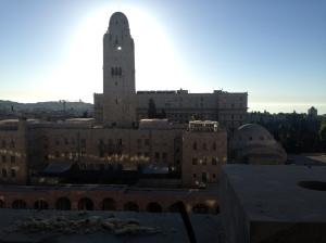 Jersualem sun rise