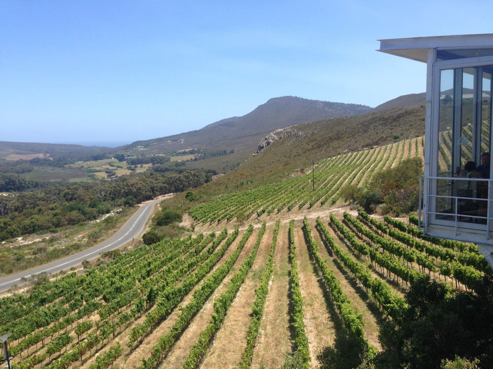 The magnificent view from La Vierge.