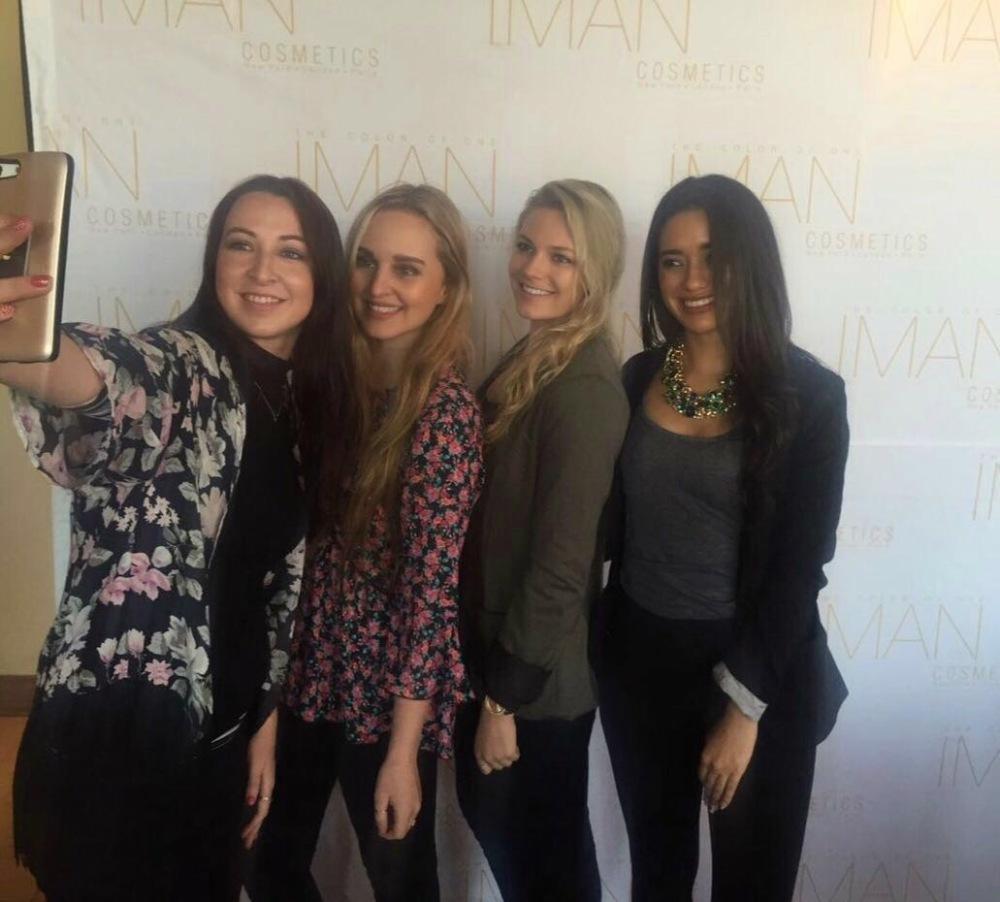 Iman Cosmetics Africa Launch
