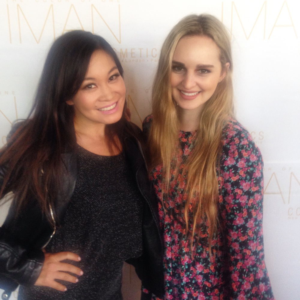 Iman Cosmetics Africa with Jen Su